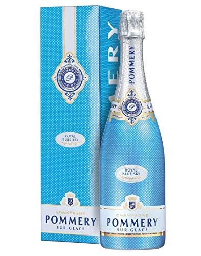 Champagne Demi-Sec AOC Royal Blue Sky Pommery 0,75 L, Astucciato