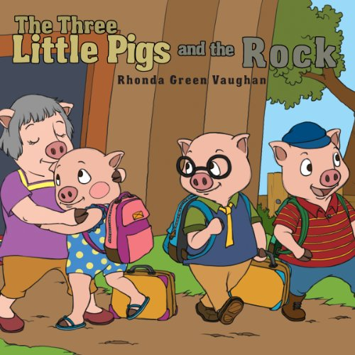 The Three Little Pigs and the Rock audiobook cover art