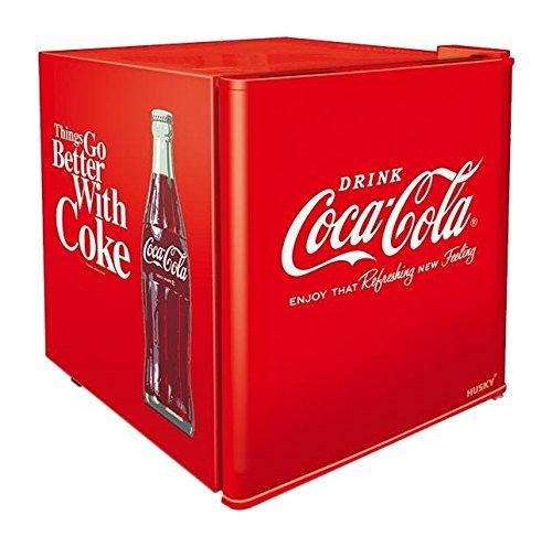 °CUBES Retro Coca-Cola Kühlschrank 50er Design / F / 98 kWh/Jahr / 48L Kühlteil