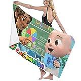 XCNGG Coco-Melon Toalla de Playa súper Absorbente Toallas de Playa de Terciopelo de poliéster 31 'X 51' Pulgadas