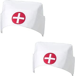 US Toy Nurse Cap (2 Pack)