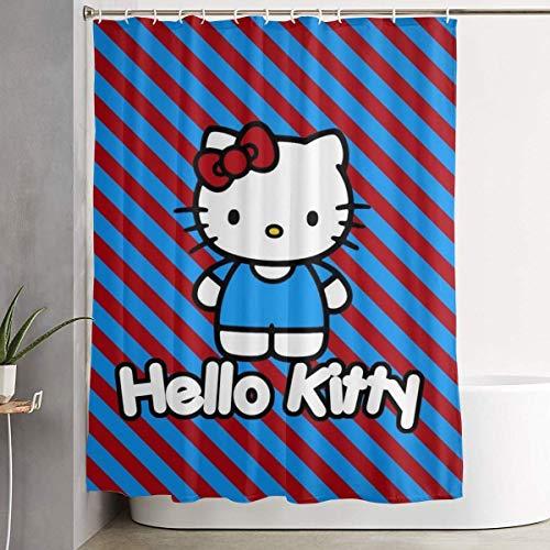 218 Zhenjil Duschvorhang Hello Kitty Wasserdicht Vorhang 152,4 x 182,9 cm