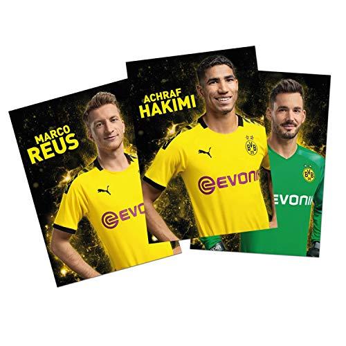 Borussia Dortmund Autogrammkarten Team 2019/20 Sammelkarten, Autographs Card BVB 09 (L)