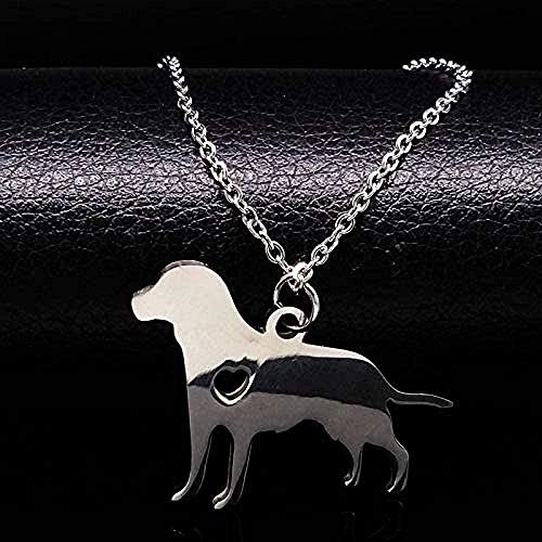 ZHIFUBA Co.,Ltd Necklace Animal Necklace Friends Dog Necklace St Steel Dog Collars Without Necklace Jewelry Men Women Jewelry Gift