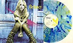 Britney - Exclusive Limited Edition RARE Clear With Blue & Yellow Splatter Colored Vinyl LP