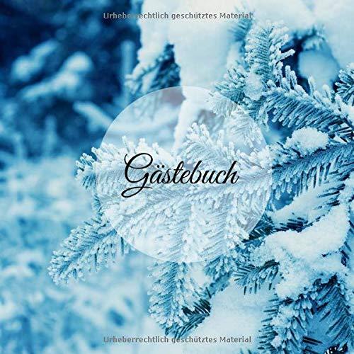 Gästebuch: für Hotel AirBnB Ferienwohnung Bed an Breakfast Gästehaus | 200 S. | edle Optik | 21 x...