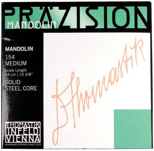 Thomastik 659994 Saiten für Mandoline, Satz mittel mit Schlinge für Mensur 34 cm