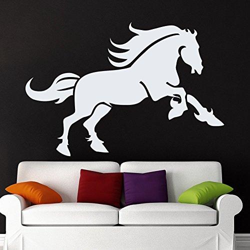 Dierlijke muurstickers Paard Decal Huisdier Verzorging Salon Decor Kwekerij Kamer Decoraties Art Home Interieur Ontwerp 38