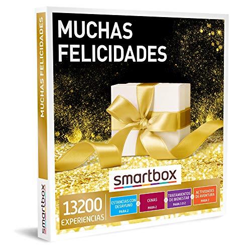 Smartbox - Caja Regalo Amor para Parejas - Muchas felicidades - Ideas Regalos Originales - 1 Experiencia de Estancia, gastronomía, Bienestar o Aventura para 1 o 2 Personas