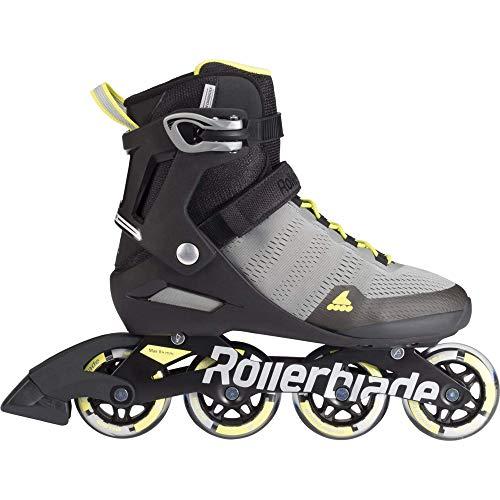 Rollerblade Herren Aero 80 Sc Skateboardschuhe, Gelb (Grigio/Giallo Solare A00), XL