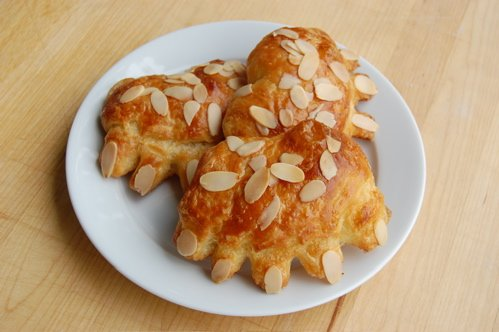 BEAR CLAW CHEESE PASTRY Genuine 2 CT Import FRESH BAKERY