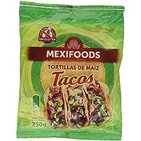 Mexifoods Tortillas de Maíz para Tacos - 250 gr