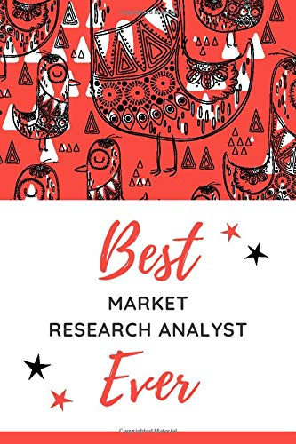 Best Market Research Analyst Ever: Christmas Card and Holiday Journal Gift All-In-One! / 6x9 Small Ruled Composition Notebook For Writing - Journaling ... - List Making / Market Research Analyst Gift