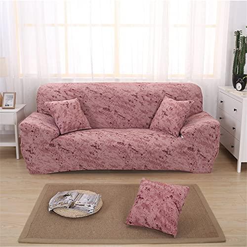 Funda de sofá elástica Universal para Sala de Estar, Funda de sofá elástica, Funda de sillón, Funda de Muebles, decoración elástica A4, 4 plazas