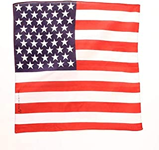 M&f Western Bandana American Flag Red White Blue 10044114 Size 21