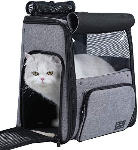 Petsfit Space Capsule Bubble Cat Rucksack für Haustiere bis zu 18 kg