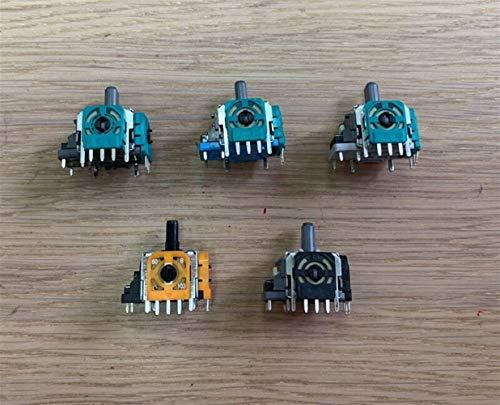 Accesorios 100pcs/lote original para PS4 para Xbox One mando de juego analógico 3D Joystick Rocker Button (color: naranja negro) Kits de accesorios (color: naranja y negro)