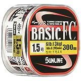 サンライン(SUNLINE) フロロカーボンライン ベーシックFC 300m 1.5号 6lb