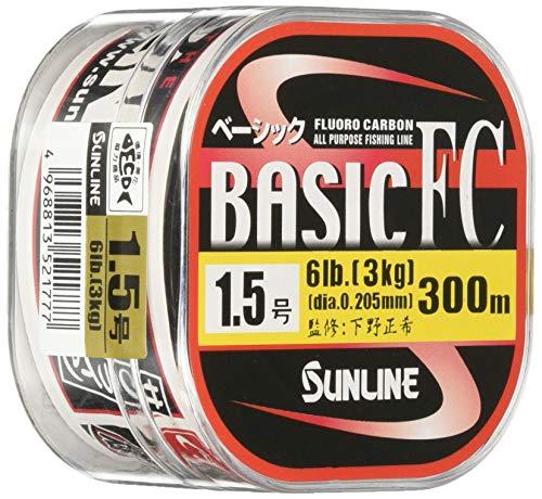 サンライン(SUNLINE) フロロカーボンライン ベーシックFC 300m 2.5号 10lb