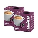 2x Lavazza A Modo Mio Caffè Crema Lungo Dolcemente ( 32 Kapseln )