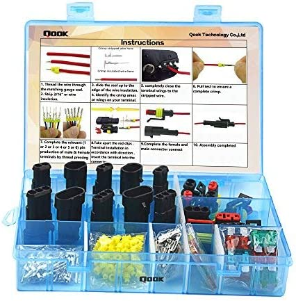 Qook 10 Set Car Waterproof Electrical Plug Animer and price revision Connector H Terminals 55% OFF