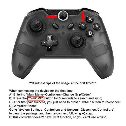 2-Pack draadloze Pro Gaming Controller Gamepad Joypad afstandsbediening voor Nintendo Switch Console