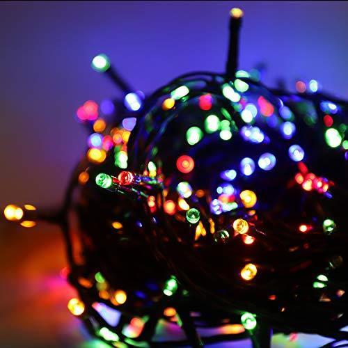 Salcar 23m 360 Leds Cadena de Luces IP44 Impermeable, LED Luz Cadena Ligera Navidad, Led Cadena luminosa con 8 Modos, Led Decoración Interior Exterior para Jardín Balcón Fiestas - Colorato