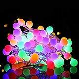 LIFEIYAN Luces De Cadena De Luz De Hadas LED Otoño/De Interior 8 Modos De Iluminación Navidad Halloween Cortina Luz De Luz Layout Red Rojo Decoración Luces Las Luces del Adorno