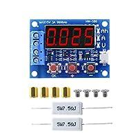 1.2V 12V18650リチウム電池容量テスターリチウムイオンリポ鉛酸電池充電放電モニター電圧計+抵抗