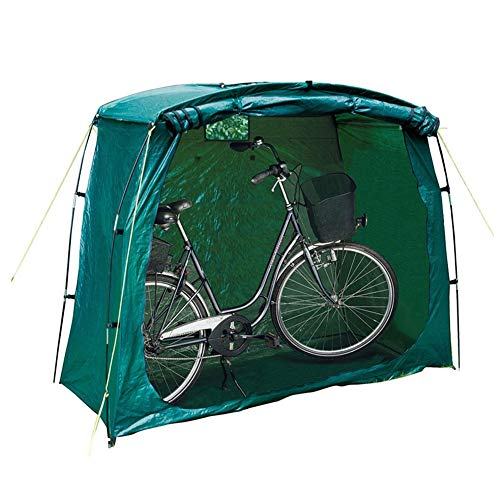 Byjia Bike Storage Shed Shelter, Waterproof And Dustproof Bike Storage Tent with Window for Outdoor Garden Mobile Garage 200X80x150cm