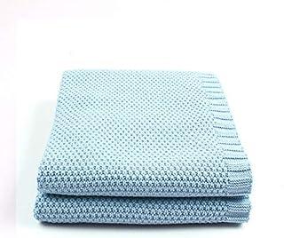 CBVG Soft Knitting Hold Mantas para bebés Recién Nacido pañales Saco de Dormir para niña Cuna Infantil Siesta Niños Aire Acondicionado Edredón, 14