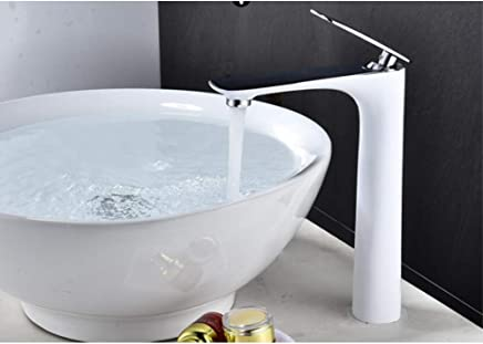 ZHFJGKR&ZL Tap Basin Faucet Hot And Cold High Sink Mixer Bathroom Basin Faucet Brass Bathroom Faucet Crane Sink Faucet