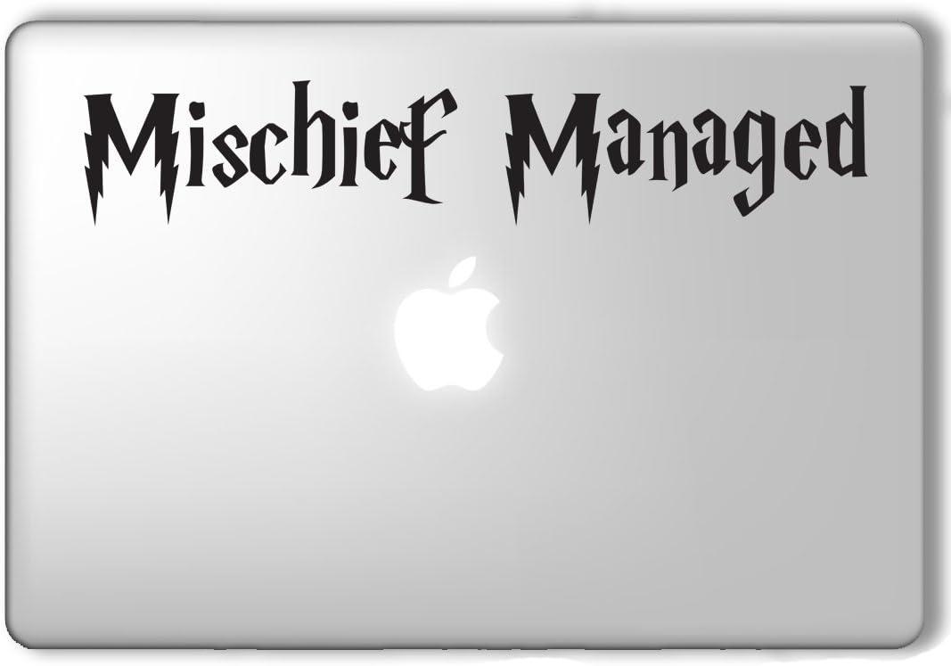 Mischief Managed Harry Potter - Apple Macbook Laptop Vinyl Sticker Decal