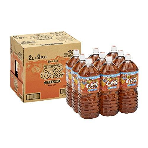 [旧品番]【Amazon.co.jp限定】 伊藤園 健康ミネラルむぎ茶 2L×9本(イージーオープンボックス)