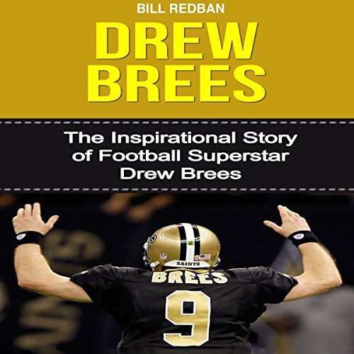 Drew Brees audiobook cover art