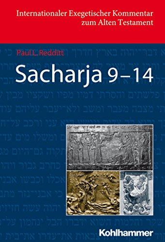Sacharja 9-14 (Internationaler Exegetischer Kommentar zum Alten Testament (IEKAT)) (German Edition)