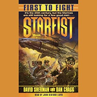 Starfist audiobook cover art