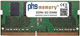 PHS-memory 4GB RAM módulo para ASUS ROG Strix GL753VD-GC003 DDR4 SO DIMM 2400MHz
