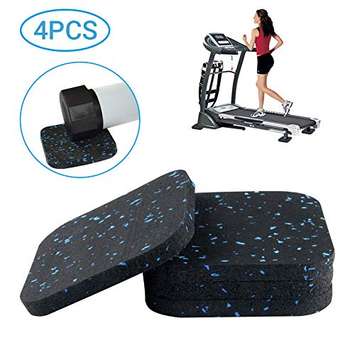 Treadmill Mat, Exercise Equipment Mat with High Density Rubber for Hardwood Floors and Carpet Protection