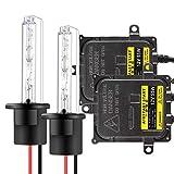 55W H1 Kit di Conversione Xenon HID per Auto Ballast HID Ultrasottili Avvio Rapido Xenon Estremamente Luminoso Bianco 6000K