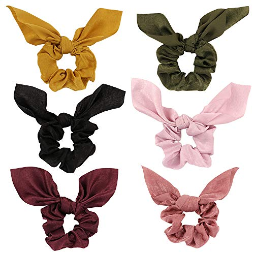 Top scrunchies with bow cotton for 2021