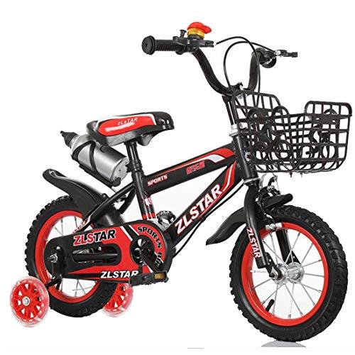 MUYU Kids Bike 12 (14,16,18,20) Inch Fiets met Training Wielen voor Leeftijden 4 tot 13 Jaar Oude Jongens en Meisjes