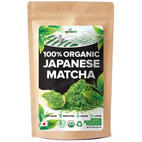 AprikaLife Organic Japanese Matcha Green Tea Powder