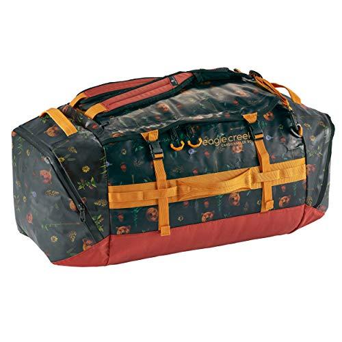 Eagle Creek Cargo Hauler Duffel Bag 90 L, faltbare Reisetasche, aus abrieb- & wasserbeständigem TPU-Gewebe, großer Rucksack und Koffer in einem, Golden State, L
