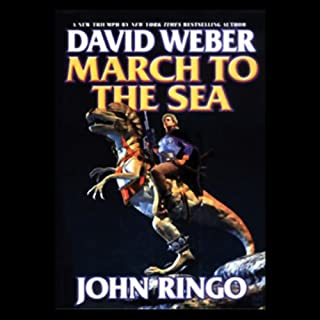March to the Sea     Prince Roger Series, Book 2              By:                                                                                                                                 David Weber,                                                                                        John Ringo                               Narrated by:                                                                                                                                 Stefan Rudnicki                      Length: 19 hrs and 13 mins     2,045 ratings     Overall 4.5