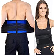 Health And Care Neoprene Double Pull Lumbar Brace