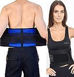 Body and Base TM, Adjustable Neoprene Double Pull Lumbar Support Lower Back Belt