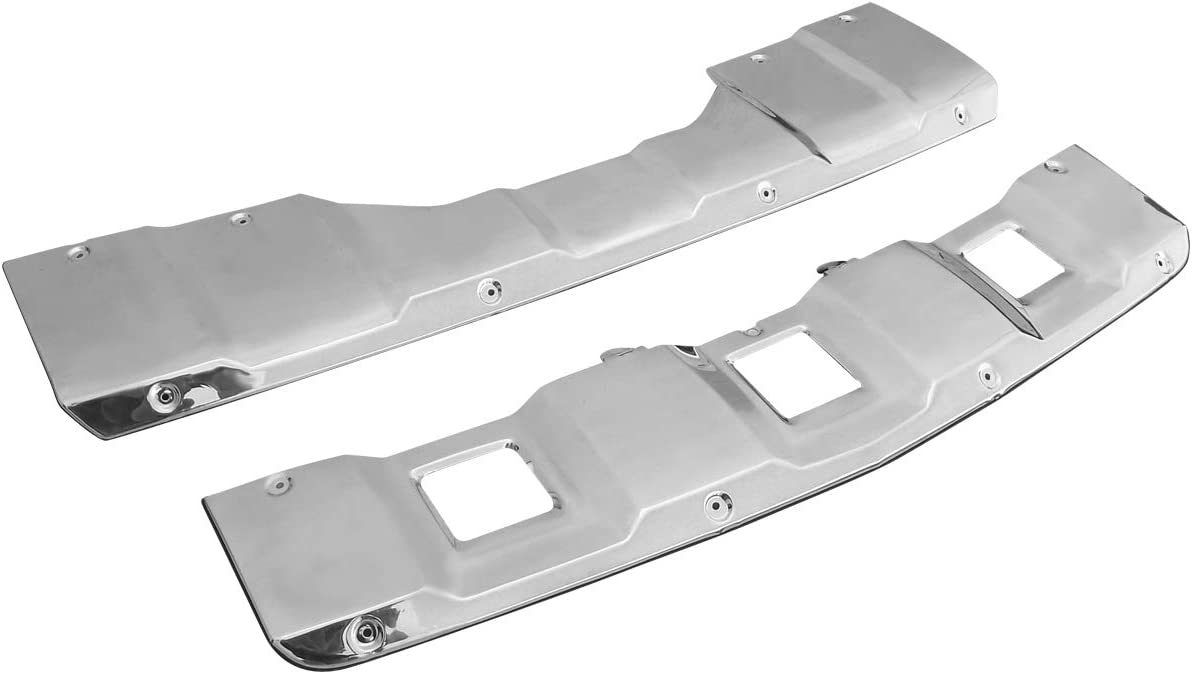 Max 56% OFF Carpartsinnovate For 07-09 Mercedes Large discharge sale Benz Fr X164 Polished Chrome