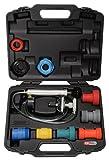 KS Tools 150.2065 Pack Diagnosis de Sistemas de refrigeración, 12pcs, Set de 12 Piezas