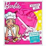MegACREATIVE Mega Creative Barbie – Juego de cocina – Chef pastelero – Delantero, guante, sombrero